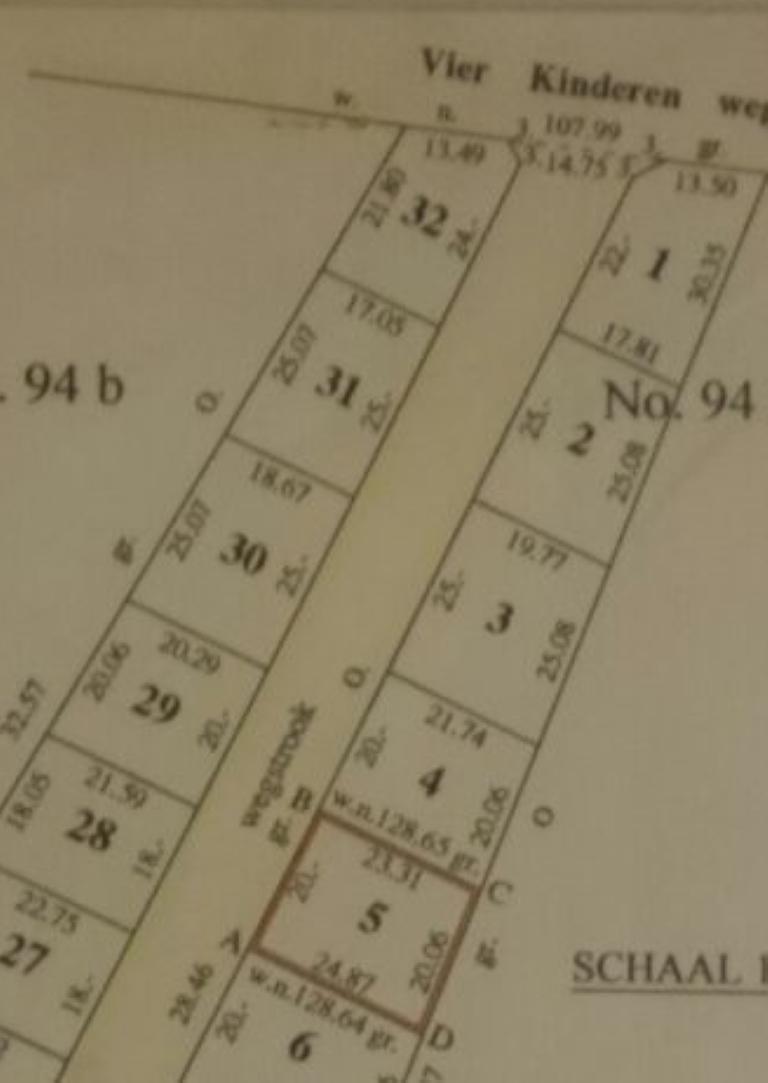 Kaart hoopweg kav5 m20 v22 short (Medium)